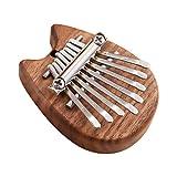 Funien 8キーカリンバミニサムピアノフィンガーピアノフィンガーキーボード楽器