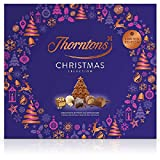 This special Christmas box of chocolates features favorites from our seasonal boxes alongside an impressive Christmas tree plaque. Inside you'll find White Chocolate Snowball, Spiced Fudge, along with Stars, Christmas trees and more. This is ideal an...