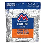 Mountain House Italian Style Pepper Steak| Freeze Dried Backpacking & Camping Food |2-Servings | Gluten-Free