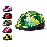 3StyleScooters® Casco da Bici SafetyMAX® per Bambini - 6 Fantasie Diverse - Perfetto per Bicicletta e Monopattino - Regolabile e Sicuro - Da 4 a 11 Anni di Età - Adatto per bambini di 5+ (M) – Giungla