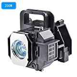 for Epson Home Cinema 8350 Replacement Bulb ELPLP49 V13H010L49 Epson H373a Lamp H419a Projector Replacement Lamp with housing.(Warranty 200days)