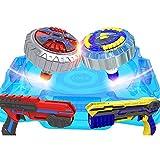 LILI Motor De Energía En Forma De Pistola Creativa Inteligente para Niños De Gyro Toy para Una Batalla Giratoria Continua,4