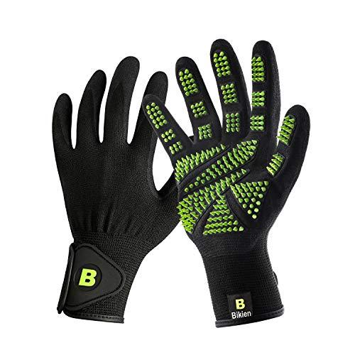 Bikien Pet Grooming Glove Hair Removal with...