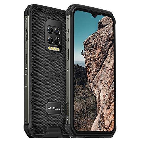 "Ulefone Armor 9E Unlocked Rugged Phones, Android 10 Helio P90 Octa-core 8GB + 128GB ROM, 64MP Four Rear Camera + 8MP Front Camera, 6.3"" FHD+ Screen 6600mAh Battery Dual 4G Rugged Smartphones"