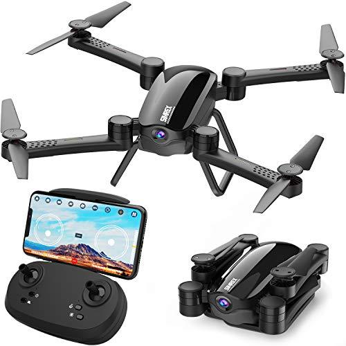 SIMREX X900 Drone RC Quadricottero Altitudine Tenere Senza Testa RTF 3D 360 Gradi FPV Video WiFi 1080P Videocamera HD 6 Assi 4CH 2.4Ghz Altezza Tenere Facile Vola costante per l'apprendimento Nero