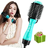 One Step Hair Dryer and Styler 4-in-1 Multifunctional Hot air Brush Straightener-curl-Comb-Dryer,...