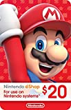 $20 Nintendo eShop Gift Card [Digital Code] (Software Download)