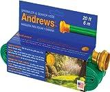 A.M. Andrews 7012350 2-in-1 Flexible Sprinkler and Soaker Hose, 20-Feet