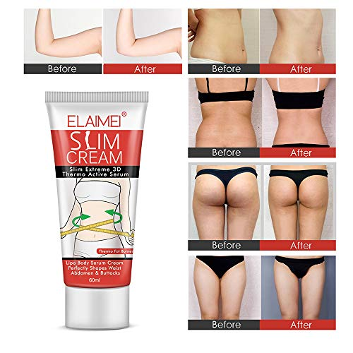 Hot Cream (2 Pack), Professional Cellulite Slimming & Firming Cream, Body Fat Burning Massage Gel, Slim Serum for Shaping Waist, Abdomen and Buttocks 3