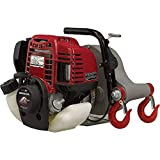 Portable Winch Gas-Powered Capstan Winch Forestry Kit - 2,200-Lb. Pulling Capacity, 2.1 HP, Honda GHX-50 Engine, Model Number PCW5000-FK