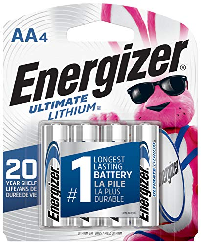 Energizer Ultimate Lithium AA Batteries,...