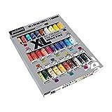 Pébéo – Huile Fine XL Étui 30 Tubes de 20 ML Assortis et Pinceau – Peinture Huile Coffret et Pinceau – Kit Peinture Huile Multisurface – 30 tubes de 20 ml