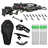 Tenpoint 470 FPS Nitro XRT Elite Hunter's Crossbow Package with 12 Arrows, Broadheads, EVO-X Marksman Scope, Sling, STAG Hard Case and ACUdraw PRO Cocking Device