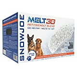 Snow Joe MELT30PET-BOX 30-Lb Premium Pet and Nature Friendly Ice Melter, Fast Acting, Safer on Vegetation, CMA Blended, Works to-12 F, Boxed for Transport, w/Bonus Scoop, 30 lbs, White