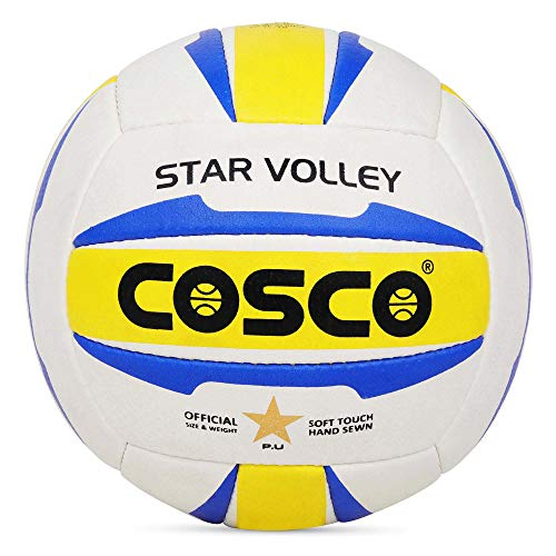 Cosco Star Volley Volleyball - 18 Panel (Color may Vary)
