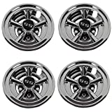 Dr.Acces Golf Cart 8' SS Wheel Covers Hub Caps, Set of 4PCS Fits on...