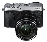Fujifilm X-E3 Mirrorless Digital Camera w/XF18-55mm Lens Kit - Silver