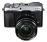 Fujifilm X-E3 Mirrorless Digital Camera w/XF18-55mm Lens Kit - Silver