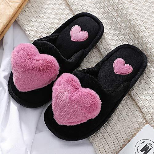 Zapatillas casa Zapatillas Cálidas Y Suaves para Mujer, Zap