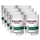 Cascade Platinum Dishwasher Cleaner Pods Fresh Scent, 1 Count (8 Pack)