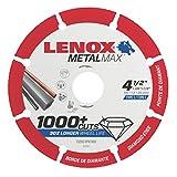 LENOX Tools Cutting Wheel, Diamond Edge, 4-1/2-Inch (1972921)