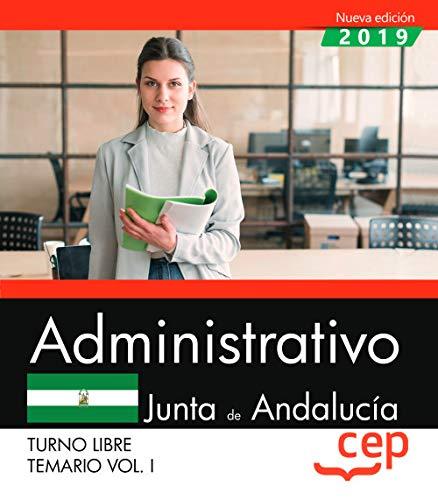 Administrativo (Turno Libre). Junta de Andalucía. Temario V