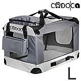 Deuba CADOCA - Cage de Transport pour Animaux domestiques • Gris/Noir •...