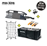 Mockins Hitch Mount Cargo Carrier with Cargo Bag and Net  The Steel Cargo Basket is 60 Long X 20...