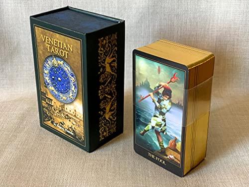 Small Venetian Tarot Deck, Divination Cards, Unique...