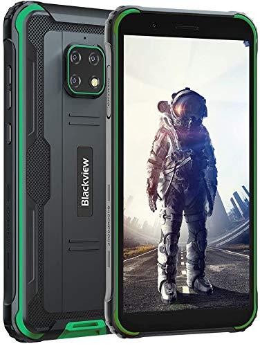 Móvil Resistente 4G, Blackview BV4900 Android 10 Impermeable...