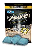 Walex Commando RV Black Holding Tank and Sensor Cleaner Drop-Ins, Ocean Mist Scent, 4-Pack (1 Year Supply)