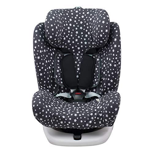 Janabebé Funda para Star Ibaby, Baby Auto Fix Noe (WINTER SKY)