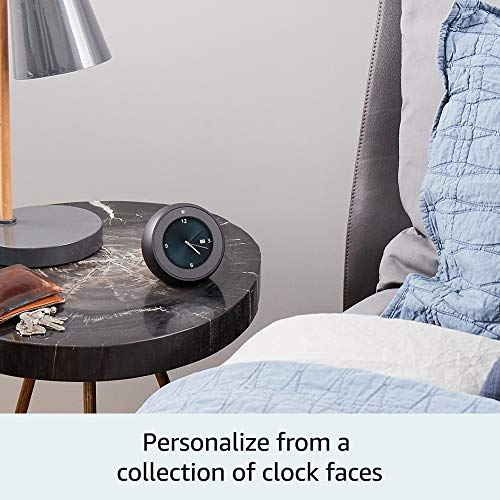 Product Image 4: Echo Spot - Smart Alarm Clock with Alexa - Black