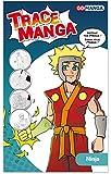 GO MANGA Ninja Trace Manga, Plastique, Transparent, A4
