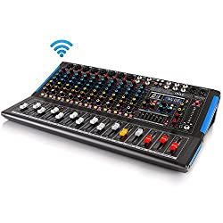 Pyle PMXU128BT 12-Channel Bluetooth Home Studio Audio Mixer Review