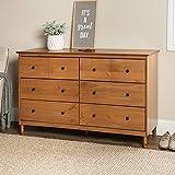 Walker Edison Wood Dresser Bedroom Storage Drawer Organizer Closet...