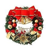 Couronne de noël, Décoration de Noel avec Clochettes Exterieur Idéal...