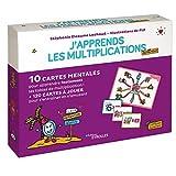 J'apprends les multiplications autrement: 10 cartes mentales pour apprendre facilement les...