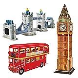 CubicFun Puzzle 3D UK Londres Collection de modèles réduits...