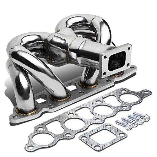 DNA Motoring TM-FF03ZT Stainless Steel Turbo Manifold