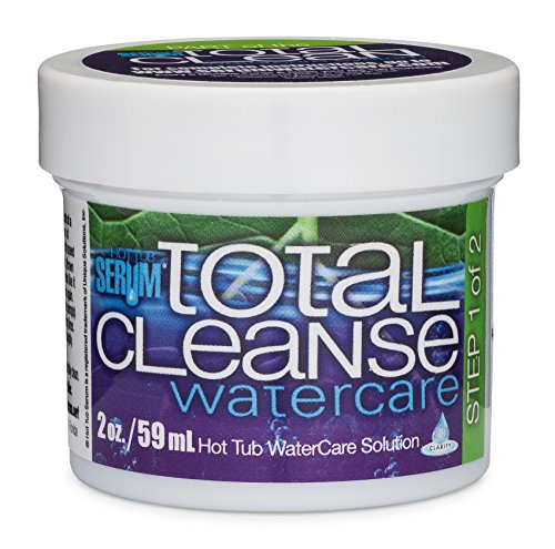 Hot Tub Serum Total Cleanse Hot Tub and Spa Cleaner  2 Ounces