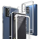 Case for Samsung S20 FE Case with Screen Protector, [3 Pack] for Samsung Galaxy S20 FE Screen...