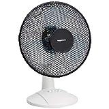 AmazonBasics Ventilateur de bureau oscillant 3 vitesses, 40 W, noir