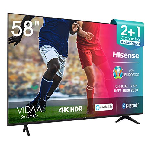 Hisense 58AE7000F - Smart TV Resolución 4K, UHD TV 2020, con...