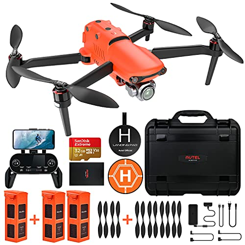 Product Image 1: Autel Robotics EVO 2 Pro Drone 6K HDR Video for Professionals Rugged Bundle with $498 Value Accessories Kit (2021 Newest Ver.)