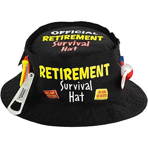 Retirement Party Survival Hat, 3 5/8' x 11.25'