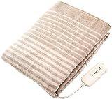 コイズミ 電気毛布 敷毛布 丸洗い可 130×80cm KDS-4061