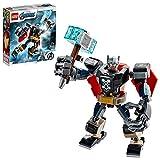 LEGO 76169 MarvelSuperHeroes L'ArmureRobotdeThor Jeu Figurine avec...