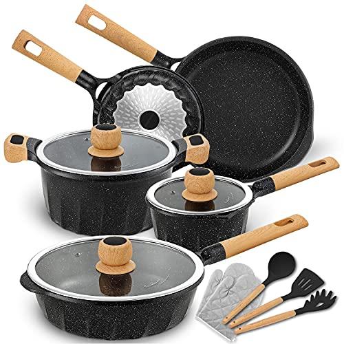 Product Image 1: Cookware Set Nonstick 100% PFOA Free <a href=