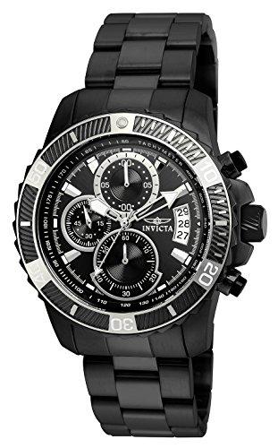 Invicta 22417 Pro Diver - Scuba Herren Uhr Edelstahl Quarz schwarzen Zifferblat